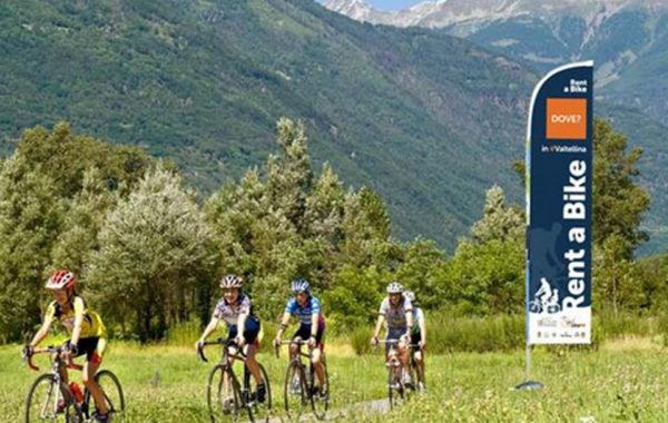 Noleggio bici in Valtellina