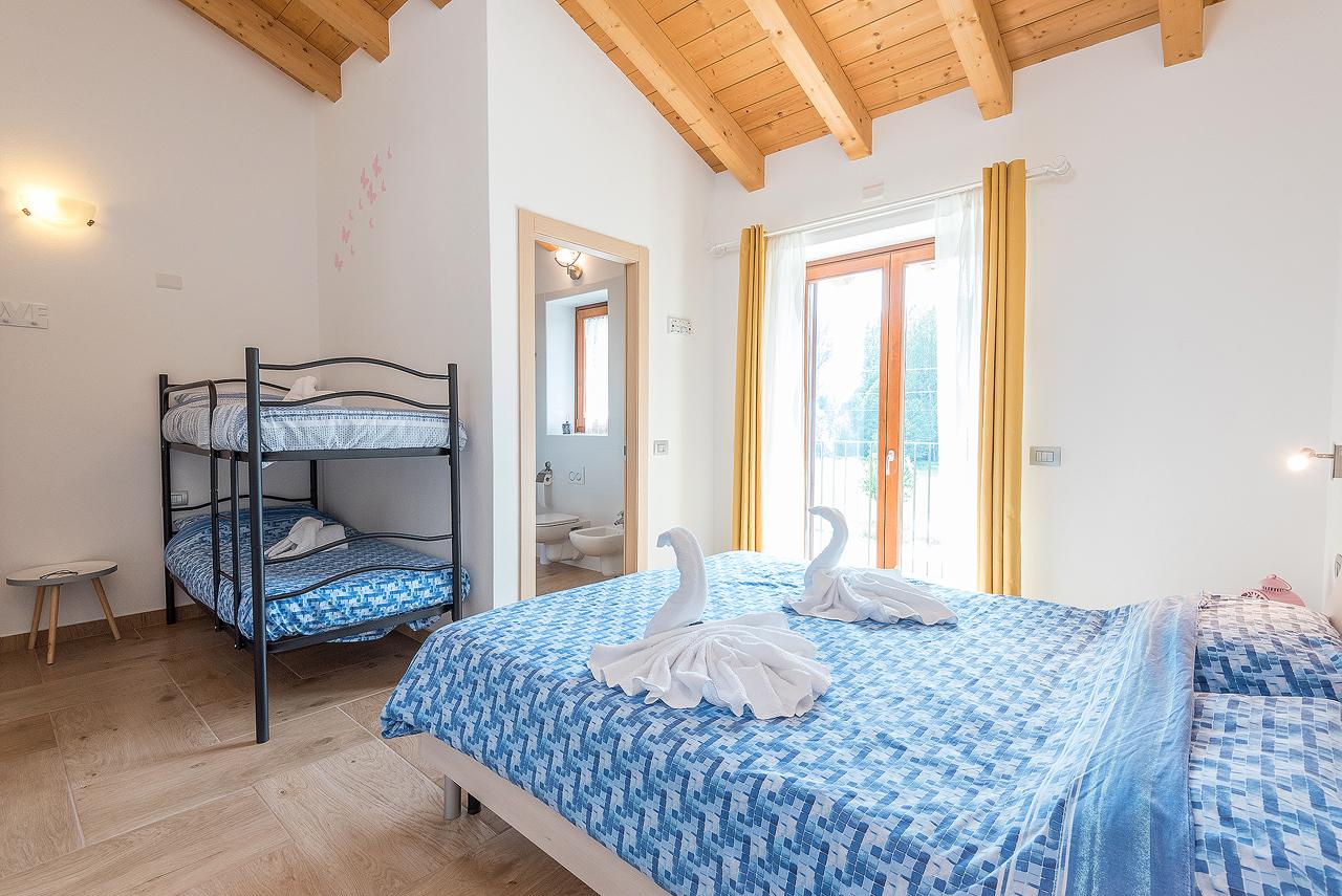 Camera 1 letto a castello dove alloggiare - Camera letto a castello ...